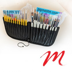 Case and brush holder - Z-Double Z-40