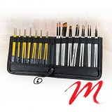 Case and brush holder - Z- Elastic