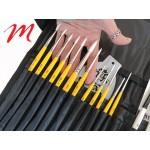 Case and brush holder - V-Pochette