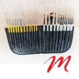 Case and brush holder - V-Pochette