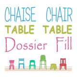 Chairs - Table